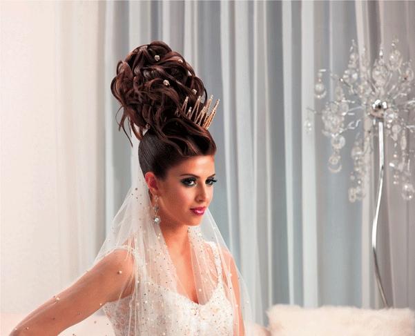 برنامج العناية الخاص بشعر العروس