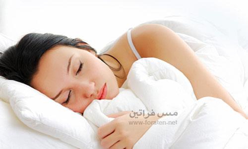 تريدين الحصول على نوم أفضل؟
