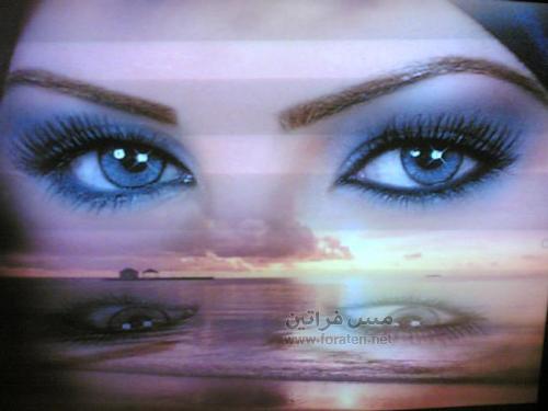 طريقة سهلة للحصول على عيون جميلة