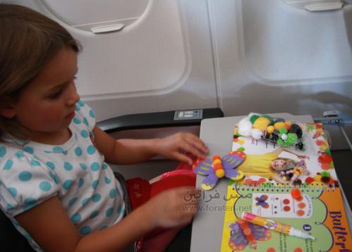 5 خطوات للترفيه عن الاطفال اثناء السفر