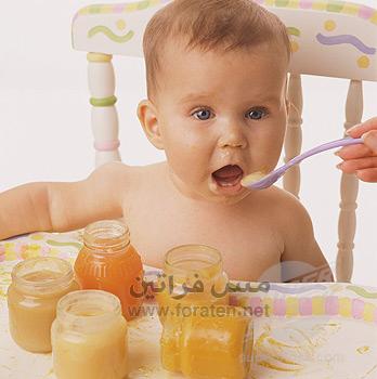 الفطام وبدء اطعام الطفل الرضيع