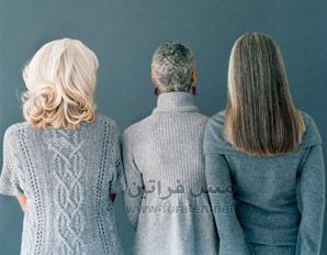 خطوات للتخلص من الشعر الأبيض