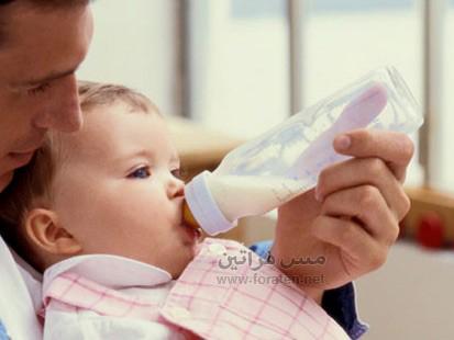مزايا وعيوب الرضاعة الصناعية