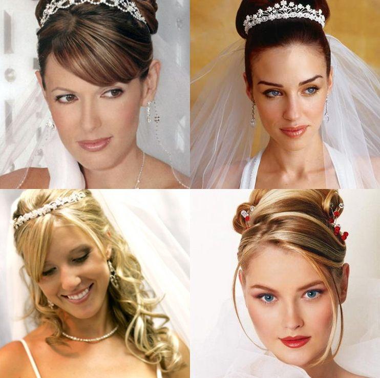 أفضل تسريحة شعر حسب شكل الوجه للعرائس؟