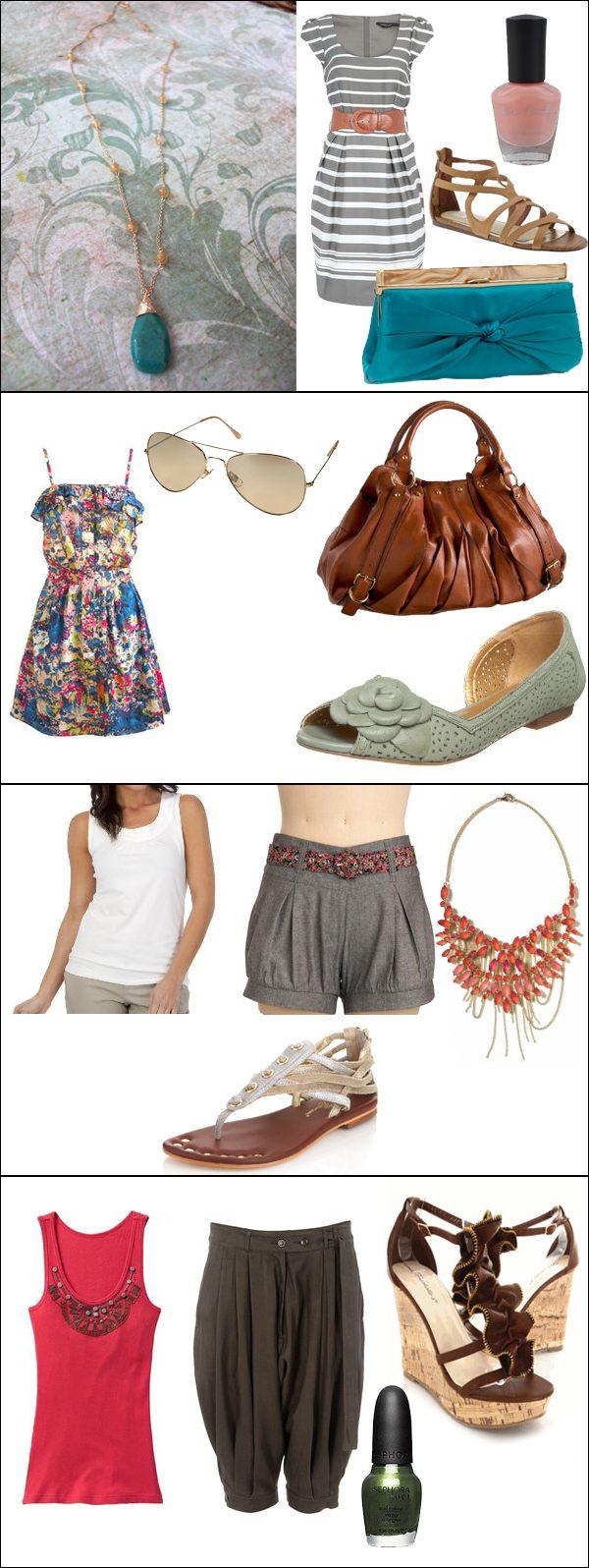 4 أفكار لملابس صيفية للاجازة