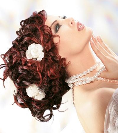 شعرك يزيّنك في يوم زفافك