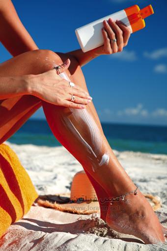 هل تستعمل كريم الوقاية من الشمس؟