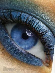 لوحة ألوان لاعادة الوميض لعيونك