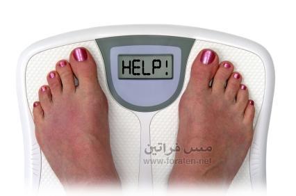لماذا لا تخسري الوزن؟