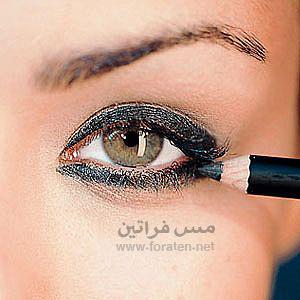 عيونك أجمل بقلم التحديد